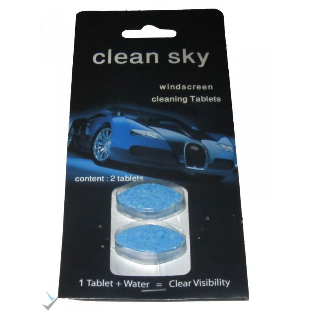 قرص شیشه شوی  2 عددی clean sky