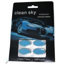 قرص شیشه شوی 4 عددی clean sky