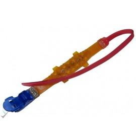 زنجیرچرخ ژله ای (پلیمری) 12 کمربندی قرمز