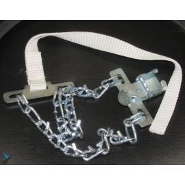 زنجیرچرخ کمربندی فلزی (آهنی)