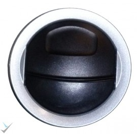 دریچه هوا روی داشبورد رانا اصلی نقره ای